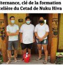 Les élèves de CPAP PMH en immersion dans des hôtels de Taiohae