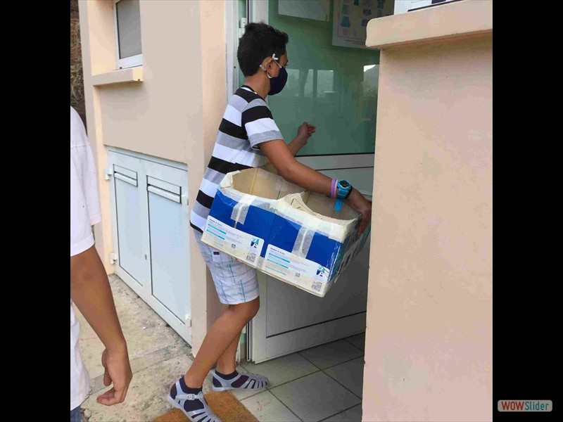 9. Collecte des recyclables dans les classes